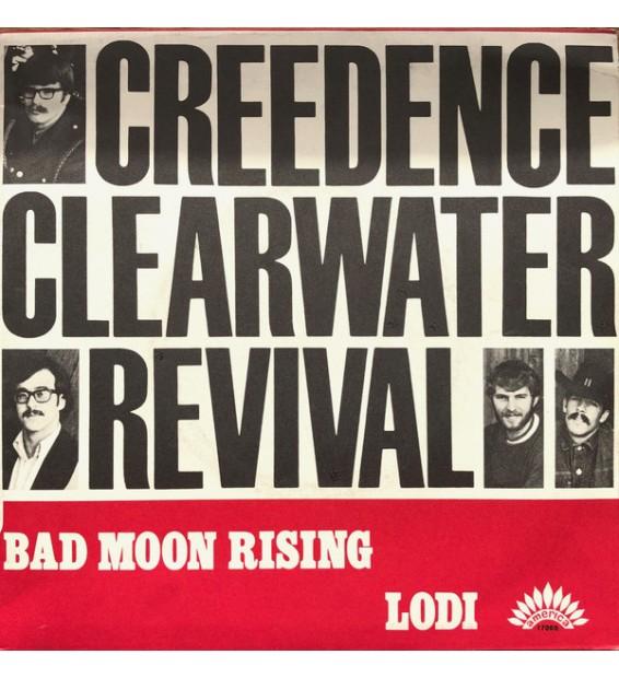 "Creedence Clearwater-Revival* - Lodi / Bad Moon Rising (7"", Single) mesvinyles.fr"