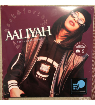 """Aaliyah - Back & Forth (12"""", Single, RE, Pur) mesvinyles.fr"""