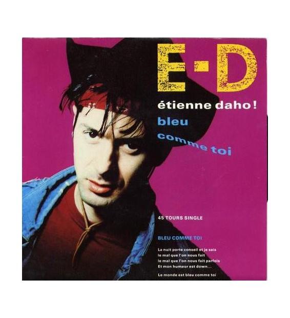 """Etienne Daho - Bleu Comme Toi (7"""", Single) mesvinyles.fr"""