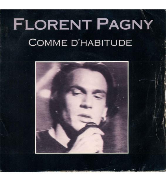"Florent Pagny - Comme D'Habitude (7"", Single) mesvinyles.fr"