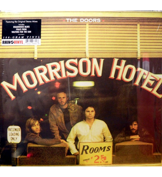 The Doors - Morrison Hotel (LP, Album, RE, 180) mesvinyles.fr