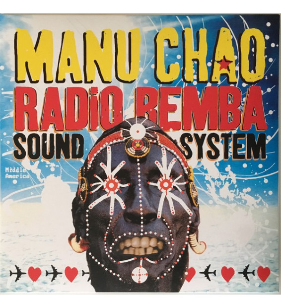 Manu Chao - Radio Bemba Sound System (2xLP, Album, RE, Gat + CD) mesvinyles.fr