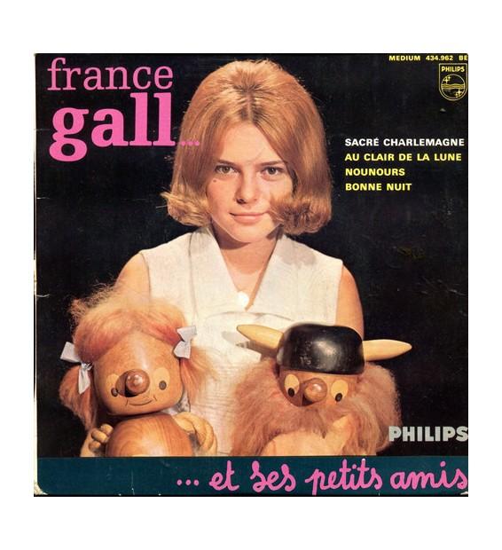 "France Gall Et Ses Petits Amis* - Sacré Charlemagne (5e Série) (7"", EP, Mono) mesvinyles.fr"