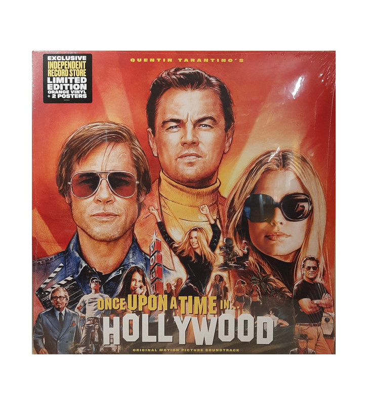 Various - Once Upon A Time In Hollywood (Original Motion Picture Soundtrack) (2xLP, Comp, Ltd, Ora) mesvinyles.fr