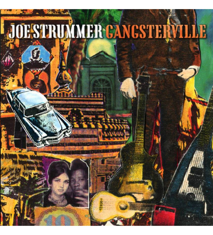 Joe Strummer - Gangsterville - Disquaire Day 2016 mesvinyles.fr