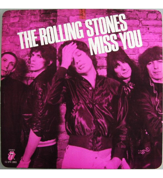 "The Rolling Stones - Miss You (12"", Pin) mesvinyles.fr"