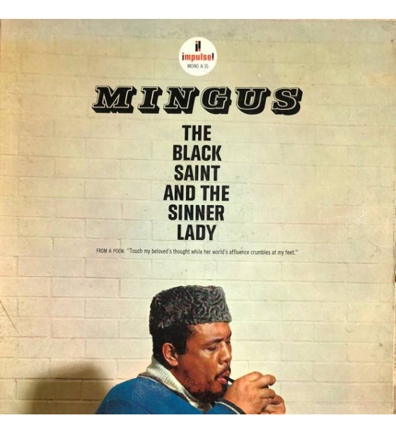 Mingus* - The Black Saint And The Sinner Lady (LP, Album, RE, Gat) mesvinyles.fr
