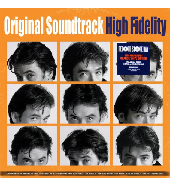 High Fidelity (Original Soundtrack) (2xLP, Num, RE, Ora)
