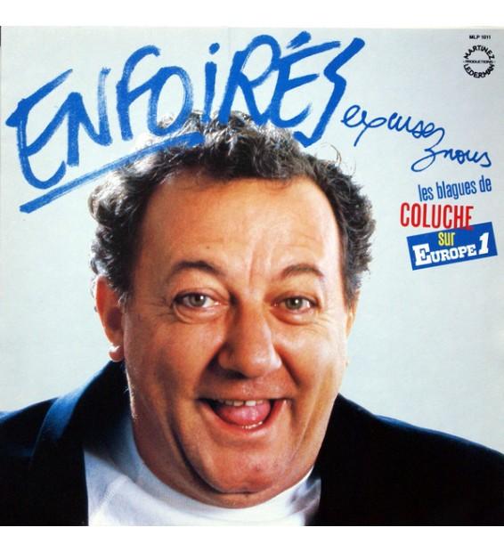 Coluche - Enfoirés, Excusez-Nous (LP) mesvinyles.fr