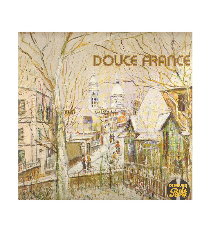 Various - Douce France (2xLP, Comp, RE, Gat) mesvinyles.fr