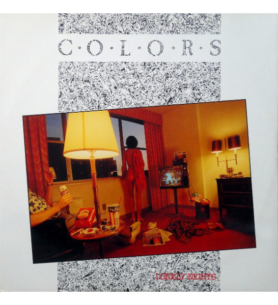 "Colors (2) - Lonely Night (12"") mesvinyles.fr"