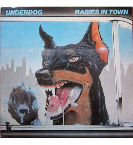 Underdog (10) - Rabies In Town (LP, Album) mesvinyles.fr