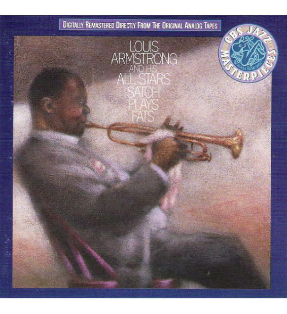 Louis Armstrong And His All-Stars - Satch Plays Fats (LP, Album, RE, RM)