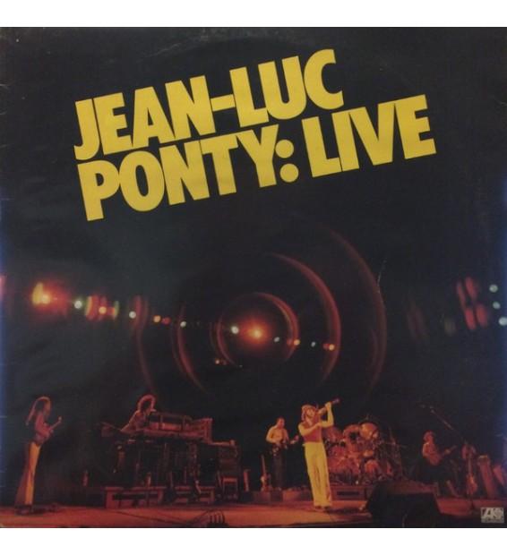 Jean-Luc Ponty - Live (LP, Album)