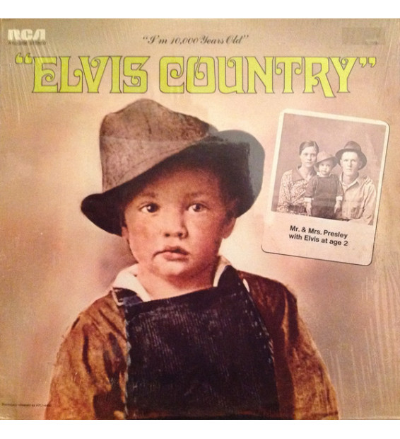 Elvis Presley - Elvis Country (I'm 10,000 Years Old) (LP, Album, RE, Ind)