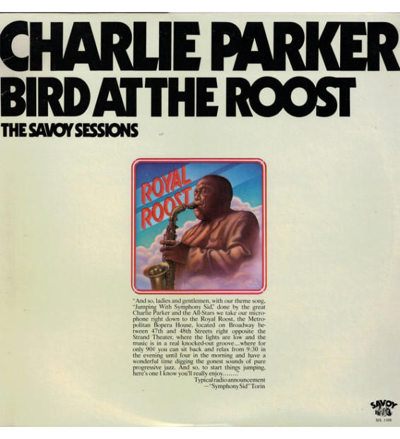 Charlie Parker - Bird At The Roost (LP, Mono)