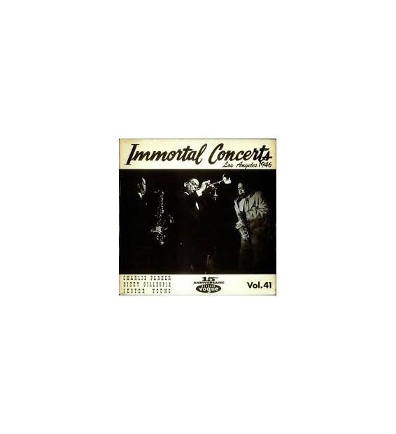 Charlie Parker, Dizzy Gillespie, Lester Young - Immortal Concerts Los Angeles 1946 (LP) mesvinyles.fr