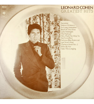 Leonard Cohen - Greatest Hits (LP, Comp) mesvinyles.fr