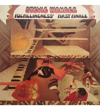 Stevie Wonder - Fulfillingness' First Finale (LP, Album, RE, Gat) mesvinyles.fr