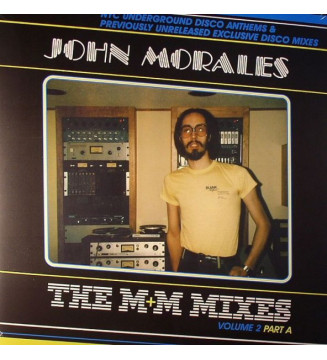 "John Morales - The M+M Mixes Volume 2 Part A (2x12"", Comp) mesvinyles.fr"