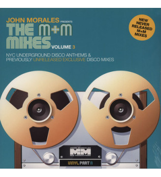 "John Morales - The M+M Mixes Volume 3 (Part A) (2x12"", Comp) mesvinyles.fr"