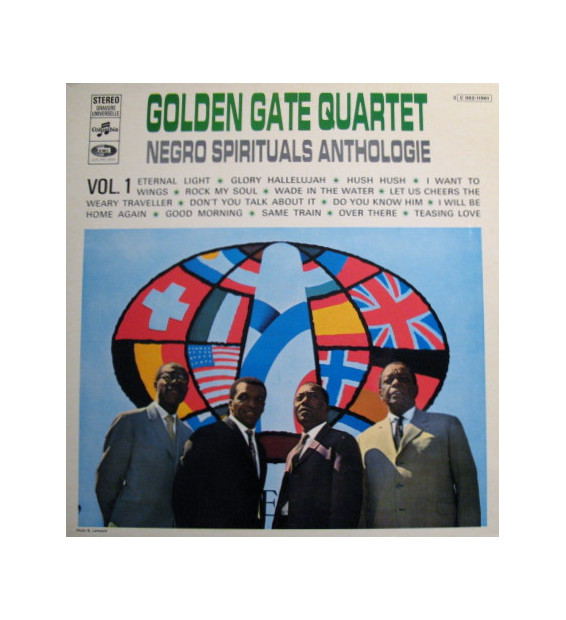 Golden Gate Quartet* - Negro Spirituals Anthologie Vol.1 (LP, Comp) mesvinyles.fr