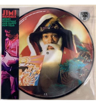 "Jimi Hendrix - Merry Christmas and Happy New Year (12"", EP, Ltd, Pic) mesvinyles.fr"