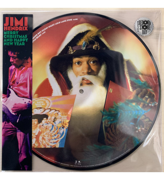 "Jimi Hendrix - Merry Christmas and Happy New Year (12"", EP, Ltd, Pic) mesvinyles.fr"