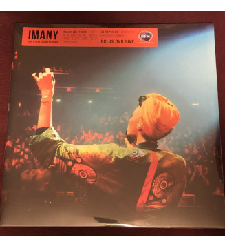 "Imany (2) - Live At The Casino De Paris (2x12"", Album, Ltd + DVD) mesvinyles.fr"