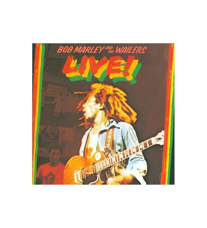 Bob Marley & The Wailers - Live! mesvinyles.fr