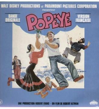 Various - Bande Originale Du Film Popeye - Version Française (LP, Album) mesvinyles.fr