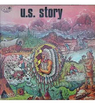 Various - U.S. Story : Bicentenaire Des Etats-Unis (1776-1976) (2xLP, Comp) mesvinyles.fr