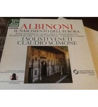 Albinoni*, I Solisti Veneti, Claudio Scimone - Il Nascimento Dell''Aurora (2xLP + Box) mesvinyles.fr