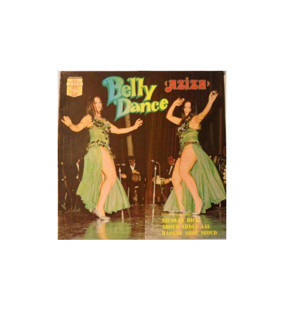 Nicolas Dick*, Aboud Abdel Aal*, Hassan Abou Seoud* - Aziza Belly Dance (LP, Album)