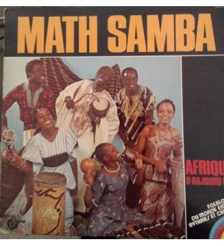 Math Samba Et Son Groupe* - Afrique D' Aujourd Hui (LP, Album) mesvinyles.fr