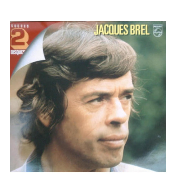Jacques Brel - Succes 2 Disques (2xLP, Comp) mesvinyles.fr