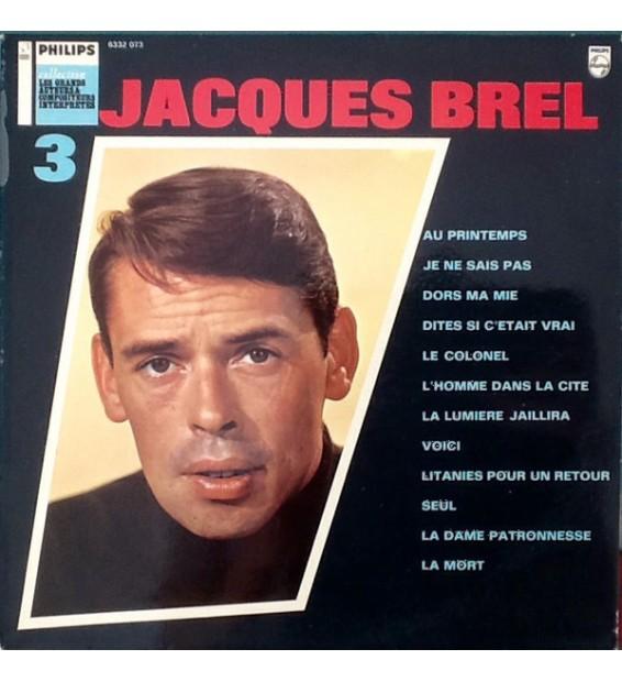 Jacques Brel - Les Grands Auteurs & Compositeurs Interprètes 3 (LP, Comp, RE) mesvinyles.fr