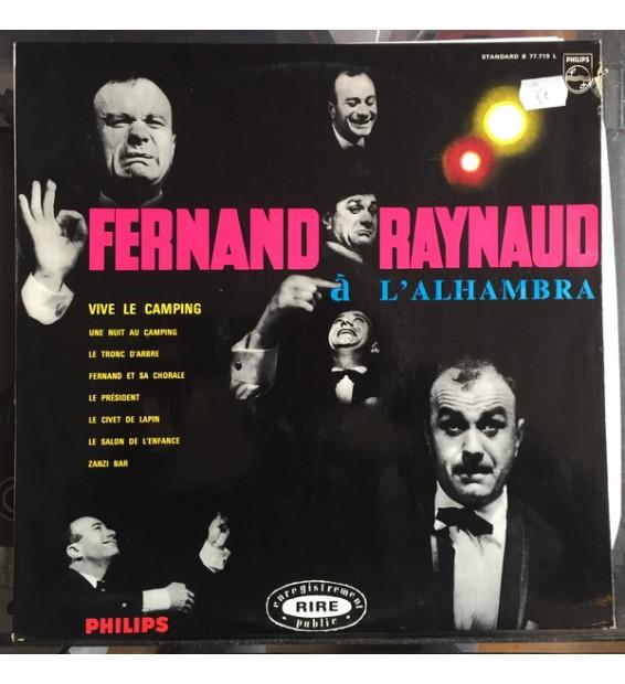 Fernand Raynaud - À L'Alhambra (LP, Album, Mono) mesvinyles.fr