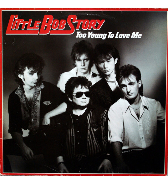 Little Bob Story - Too Young To Love Me (LP, Album)