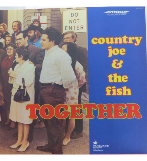 Country Joe And The Fish - Together (LP, Album, RE, Gat) mesvinyles.fr