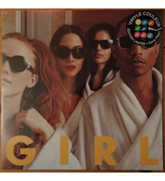 Pharrell Williams - G I R L (LP, Album, Ltd, RE, Yel) mesvinyles.fr