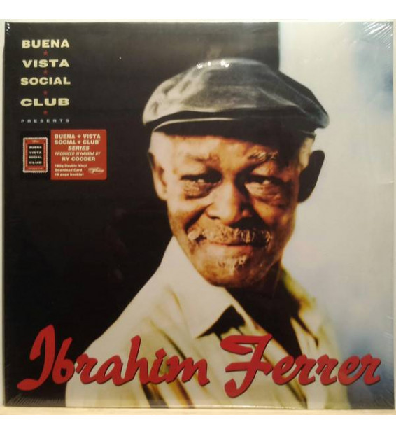 Ibrahim Ferrer - Buena Vista Social Club Presents Ibrahim Ferrer (2xLP, Album, RE, 180)