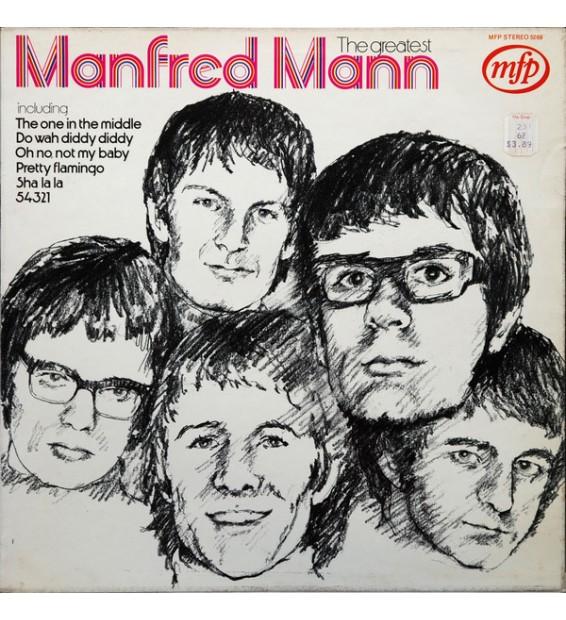 Manfred Mann - The Greatest (LP, Comp) mesvinyles.fr