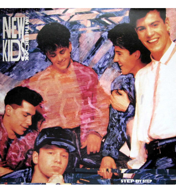 New Kids On The Block - Step By Step (LP, Album, Club) mesvinyles.fr