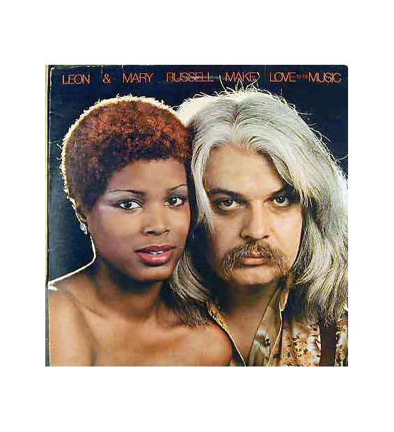 Leon & Mary Russell - Make Love To The Music (LP, Album) mesvinyles.fr