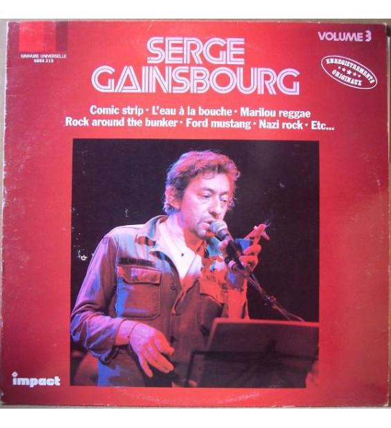 Serge Gainsbourg - Serge Gainsbourg Volume 3 (LP, Comp) mesvinyles.fr
