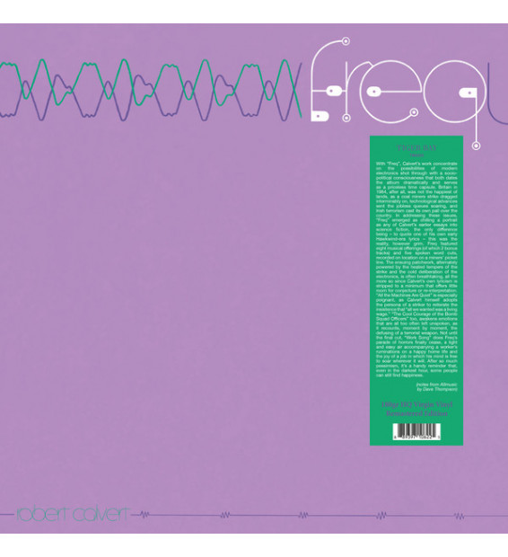 Robert Calvert - Freq (LP, Album)