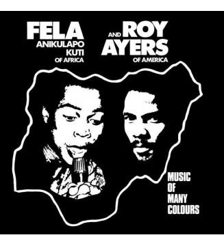 Fela Anikulapo Kuti* And Roy Ayers - Music Of Many Colours (LP, Album, RE) mesvinyles.fr