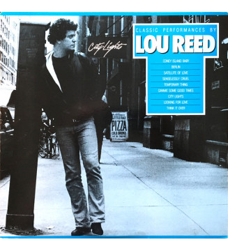 Lou Reed - City Lights (Classic Performances By Lou Reed) (LP, Comp) mesvinyles.fr