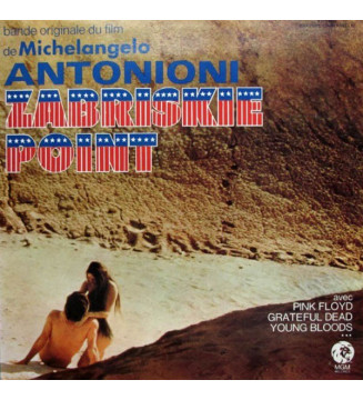 Various - Zabriskie Point (Bande Originale Du Film De Michelangelo Antonioni) (LP, Album) mesvinyles.fr